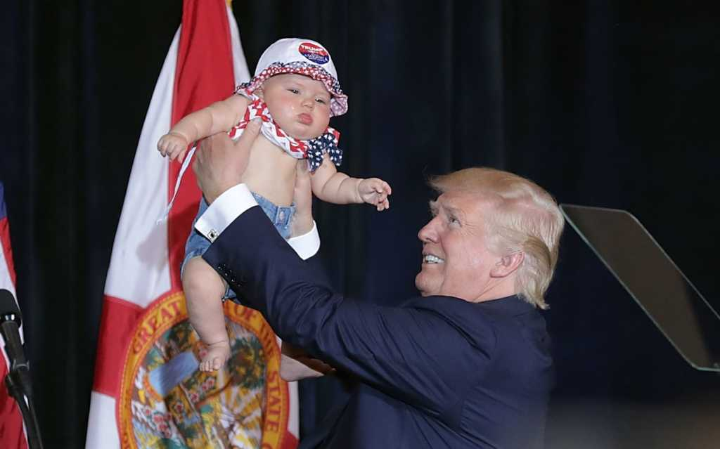 961253d9 People Are Naming Their Babies after Trump, the Country It's Happening in  Will Be a Shock to Some. Baby ...Trump?