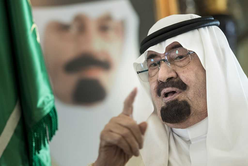 Saudi King Abdullah bin Abdulaziz al-Saud (Photo credit should read BRENDAN SMIALOWSKI/AFP/Getty Images)