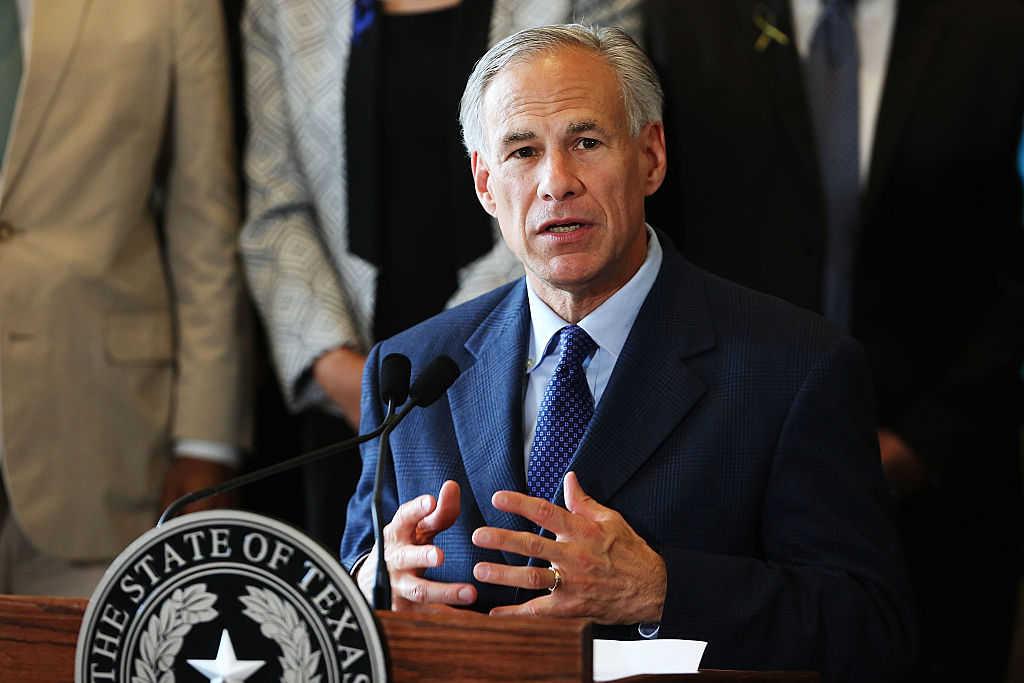 Texas Governor Greg Abbott (Photo by Spencer Platt/Getty Images)