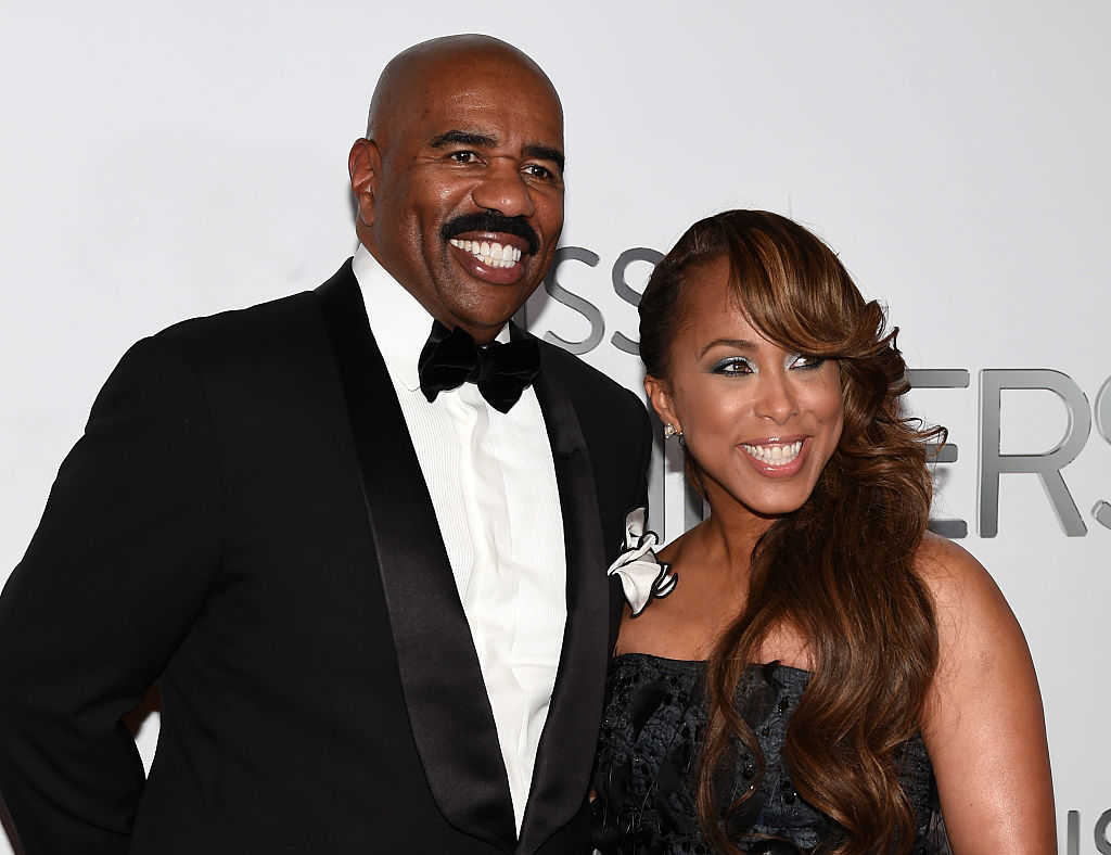 TV personality and host Steve Harvey and his wife Marjorie Harvey (Ethan Miller/Getty Images)