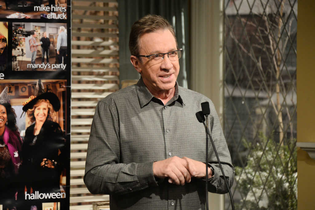 """Actor Tim Allen attends the 100th episode celebration of ABC's """"Last Man Standing"""" at CBS Studios - Radford on January 12, 2016 in Studio City, California. (Photo by Matt Winkelmeyer/Getty Images)"""