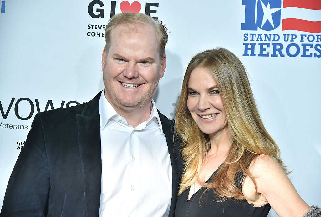 Comedian, performer Jim Gaffigan and writer Jeannie Gaffigan (Theo Wargo/Getty Images)