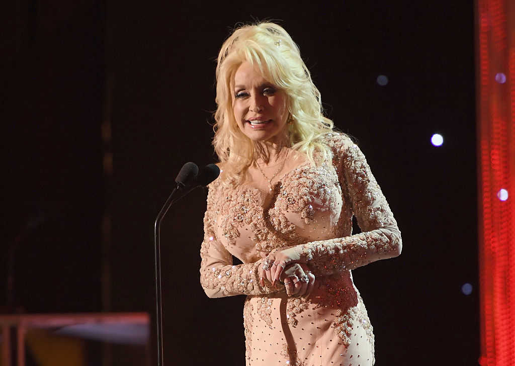 Country singer Dolly Parton (Dimitrios Kambouris/Getty Images for TNT)