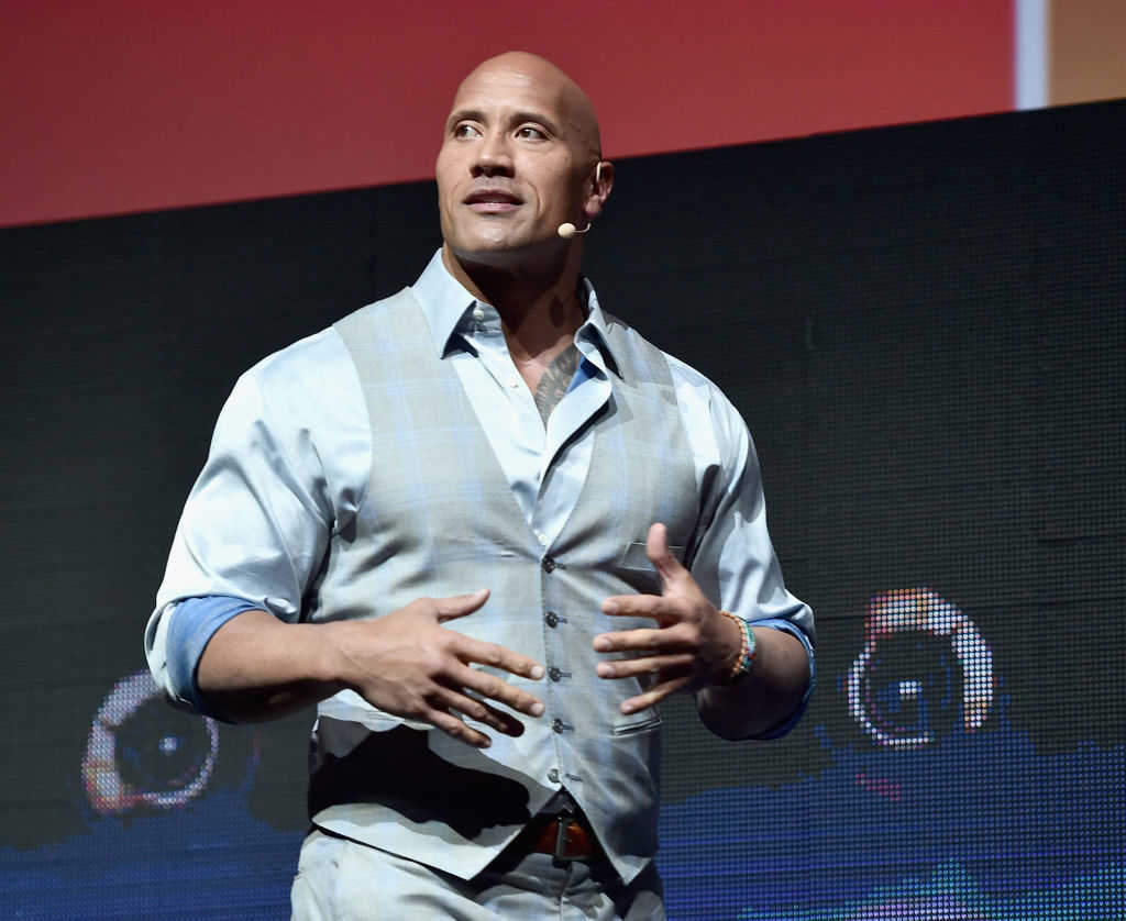 """Actor Dwayne """"The Rock"""" Johnson (Alberto E. Rodriguez/Getty Images for CinemaCon)"""