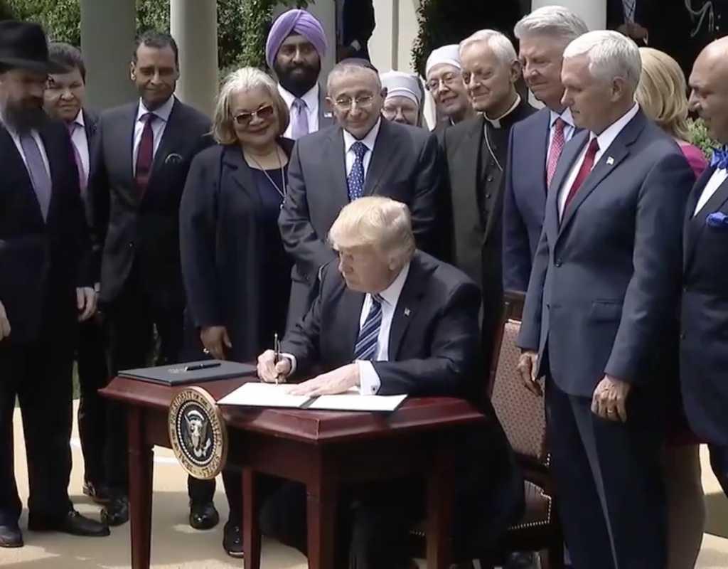 Facebook/White House