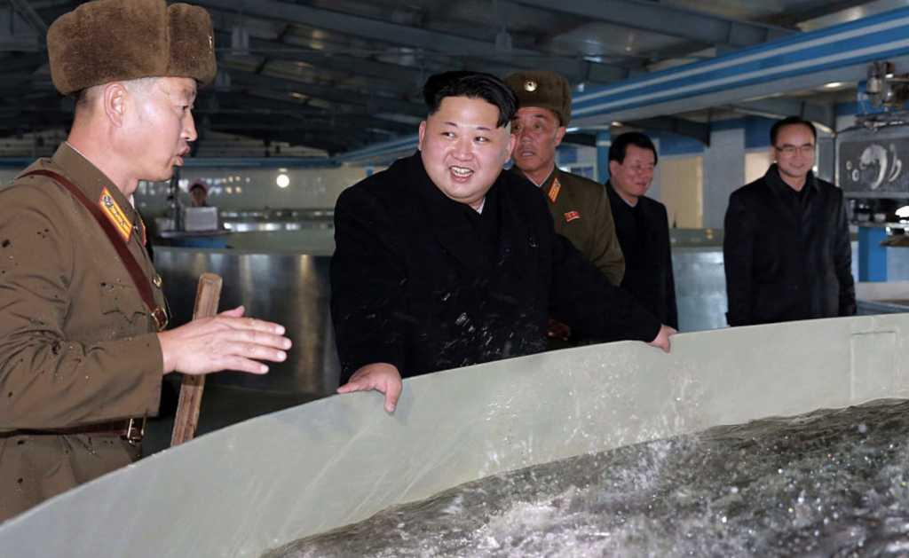 Photo credit: AFP PHOTO/KCNA VIA KNS