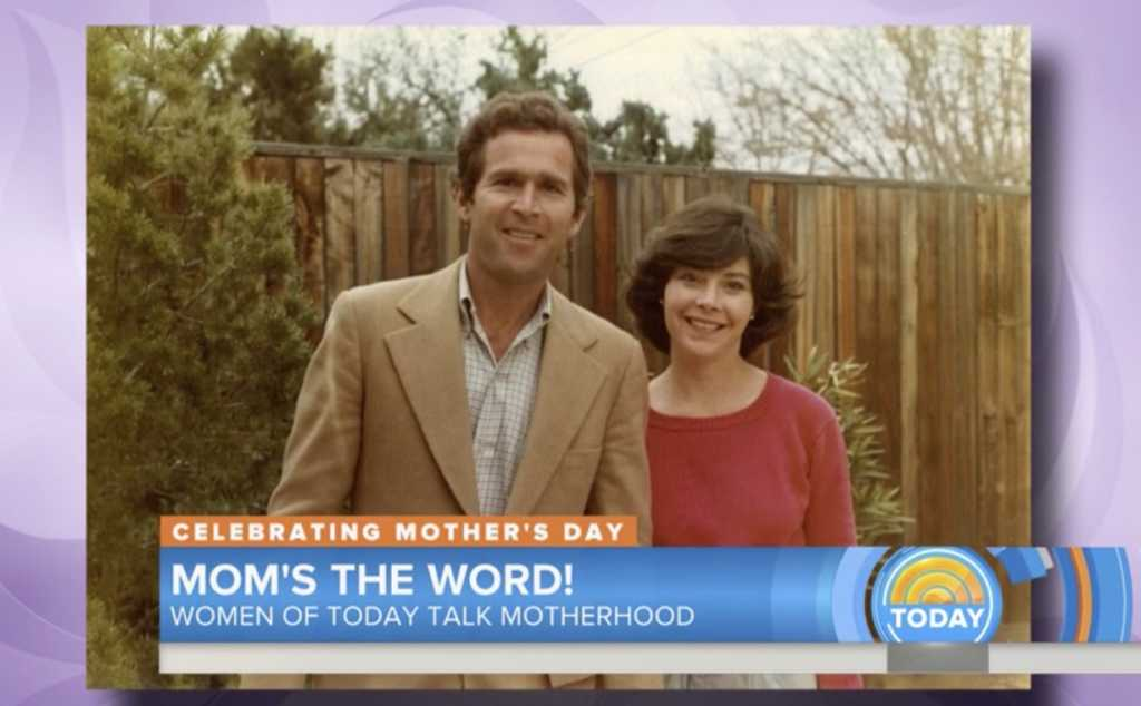George and Laura Bush (Image source: Today Show)