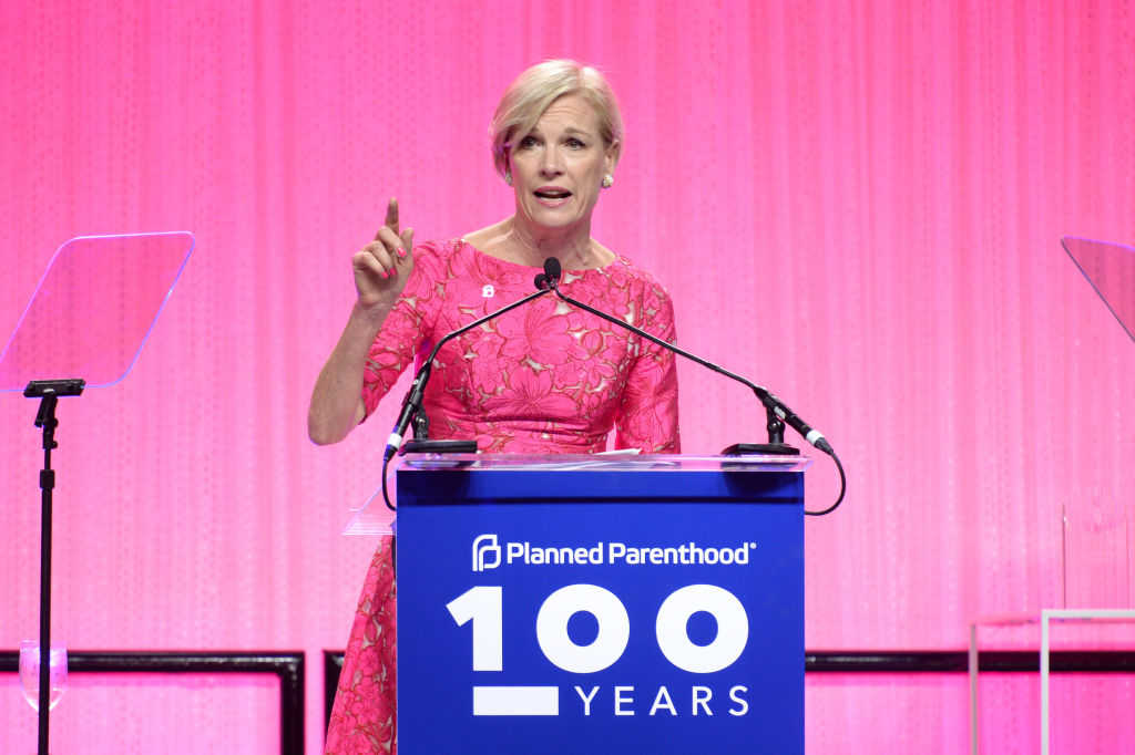 Cecile Richards speaks onstage at the Planned Parenthood 100th Anniversary Gala at Pier 36 on May 2, 2017 in New York City. (Andrew Toth/Getty Images)