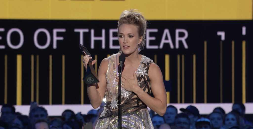 Photo Caption: CMT Awards Screen Shot