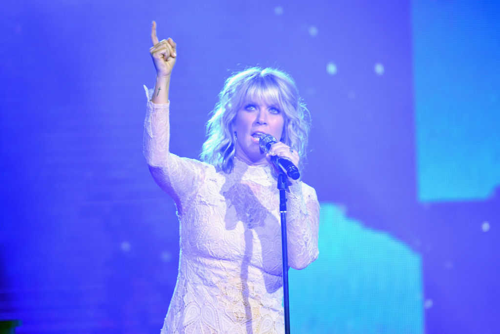 Natalie Grant performs onstage at the 5th Annual KLOVE Fan Awards at The Grand Ole Opry on May 28, 2017 in Nashville, Tennessee. (Jason Davis/Getty Images for KLOVE)