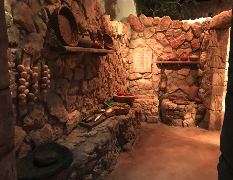 One of the scenes presented inside the Museum of the Bible that shows what life in Nazareth was like (Faithwire)