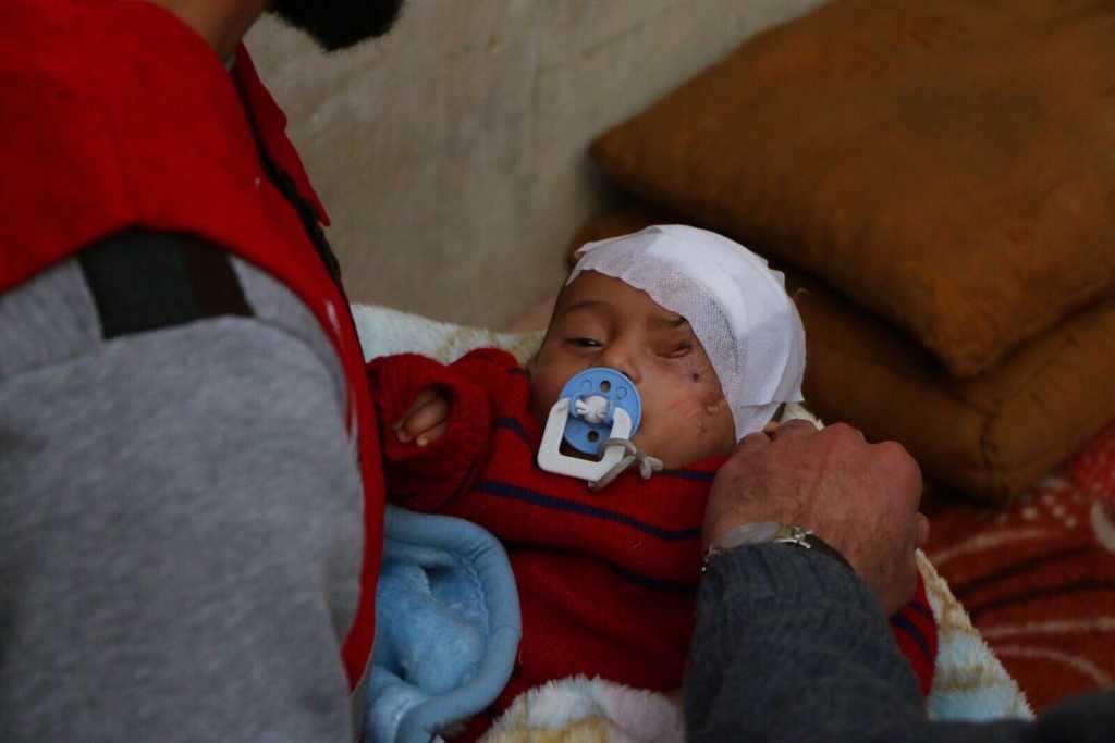 Photo: Turkish Red Crescent via Twitter