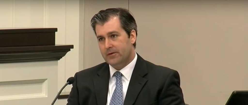 Ex-officer Michael Slager/YouTube Screenshot