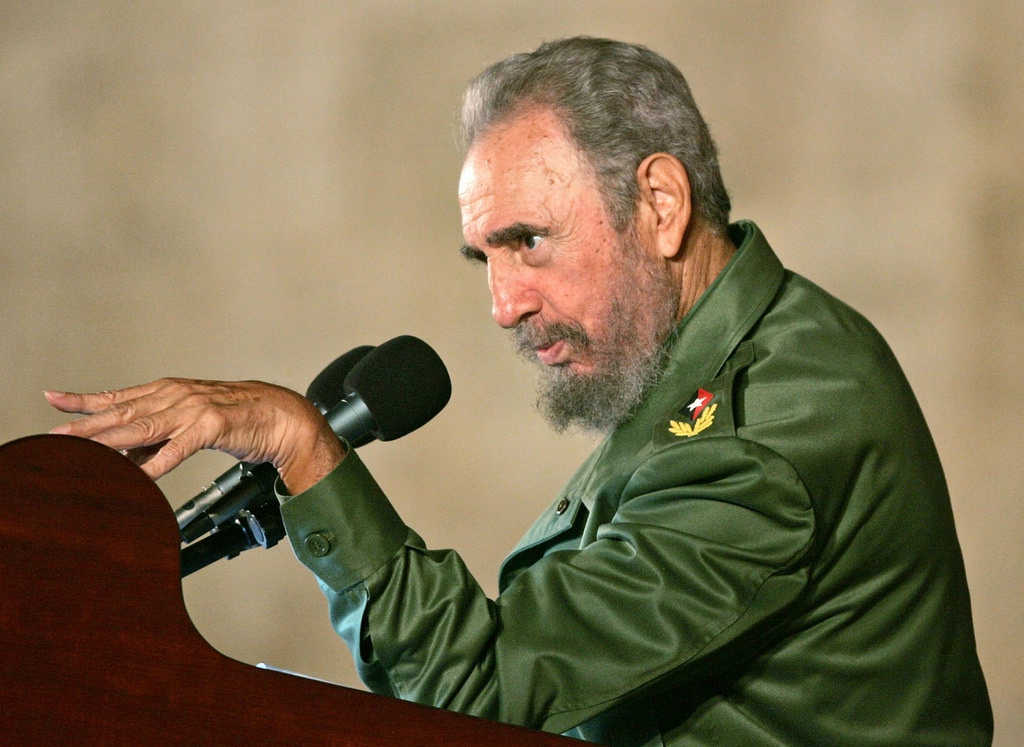 Fidel Castro. Credit: Flickr