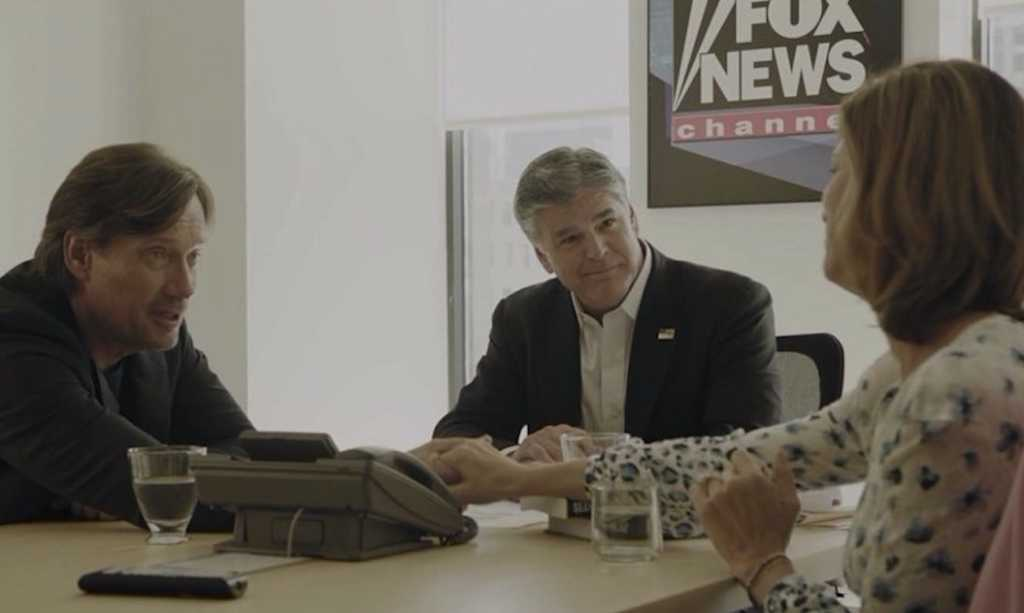 Kevin Sorbo and Sean Hannity in faith-based movie 'Let There Be Light.'
