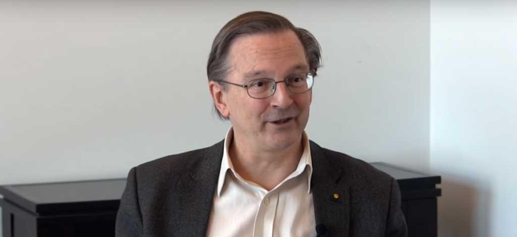 Harvard Biologist Jack Szostak. Screenshot: YouTube