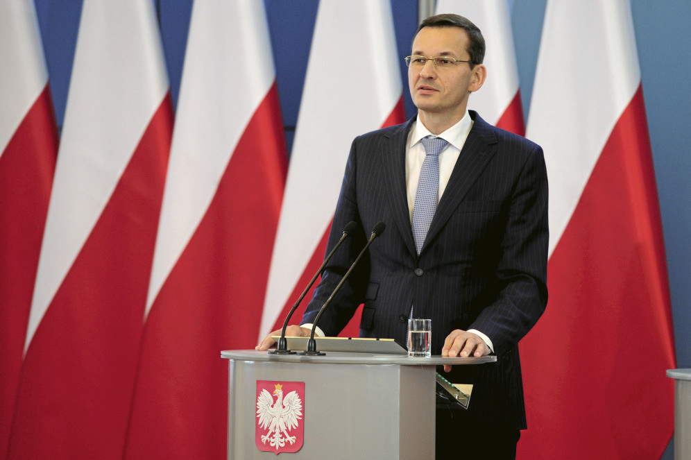 Polish Prime Minister Mateusz Morawiecki, Credit: Flickr