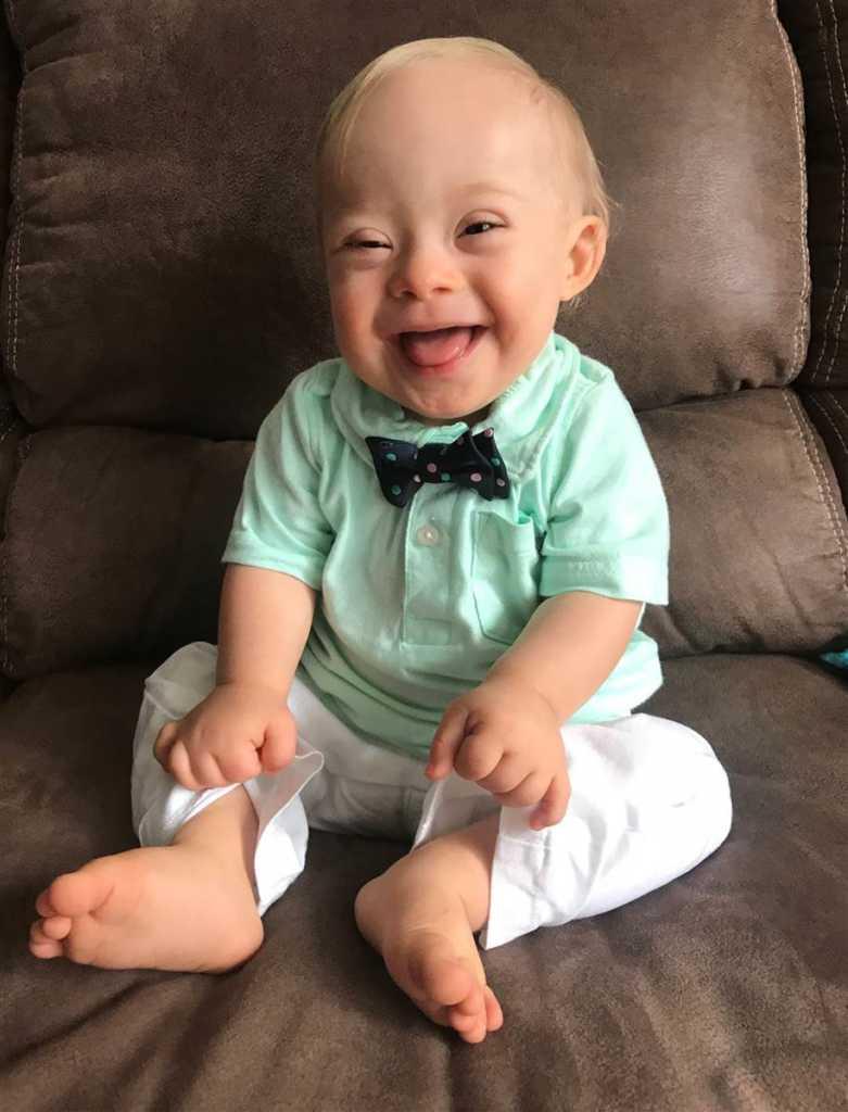 Gerber baby Lucas Warren. Credit: Gerber.
