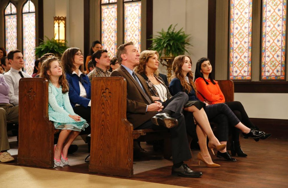 """Photo: ABC via the Twitter account for """"Last Man Standing"""""""