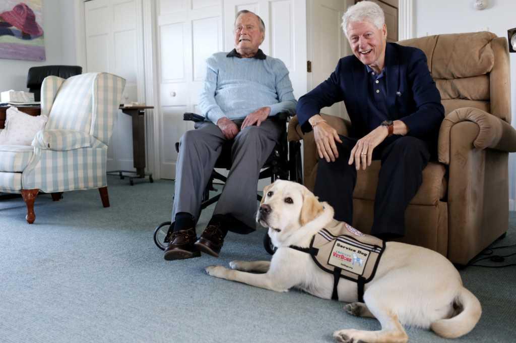 Image source: George H.W. Bush via Twitter