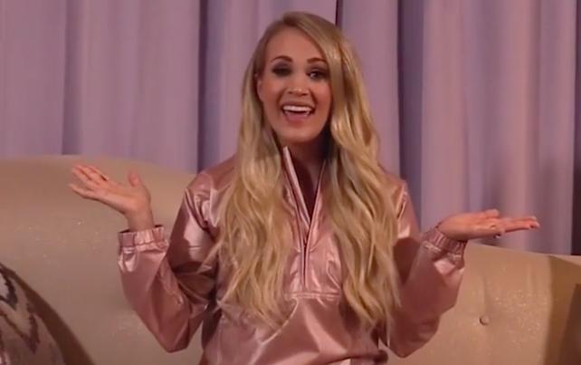 Image source: Carrie Underwood/Instagram