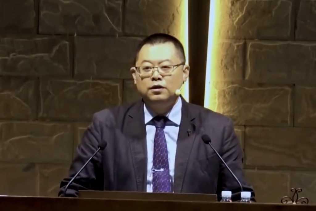 Image credit: Wang Yi Sermon Clips/YouTube