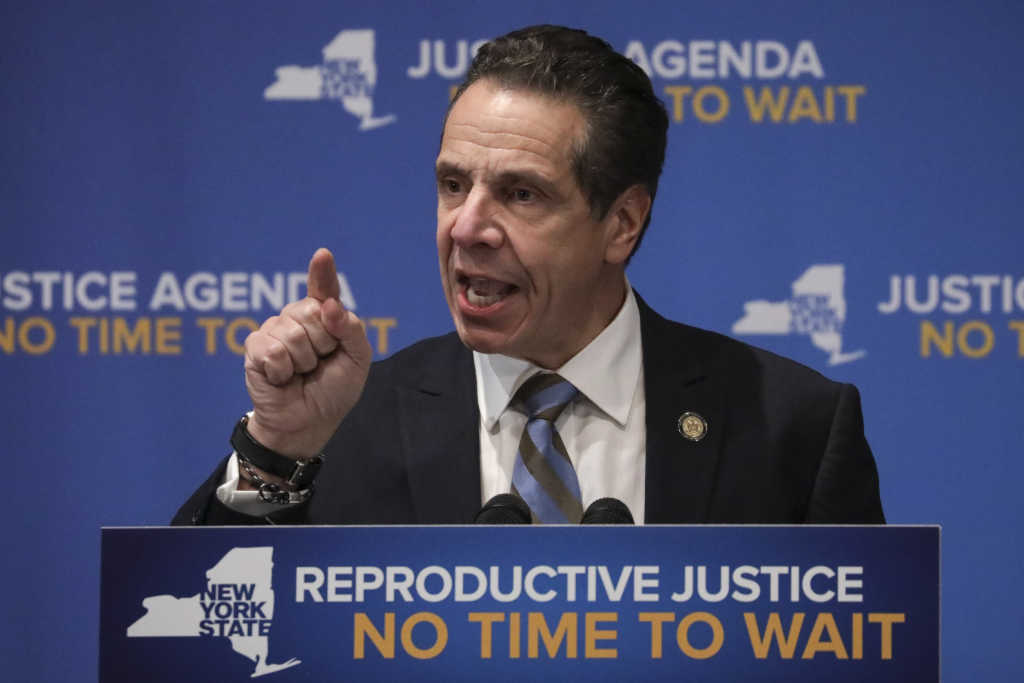 NY Protects late term abortions for mothers at risk