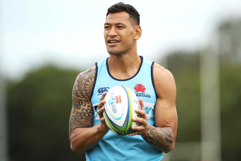 Isreal Folau NRL return ruled out by Australia chief Peter Beattie