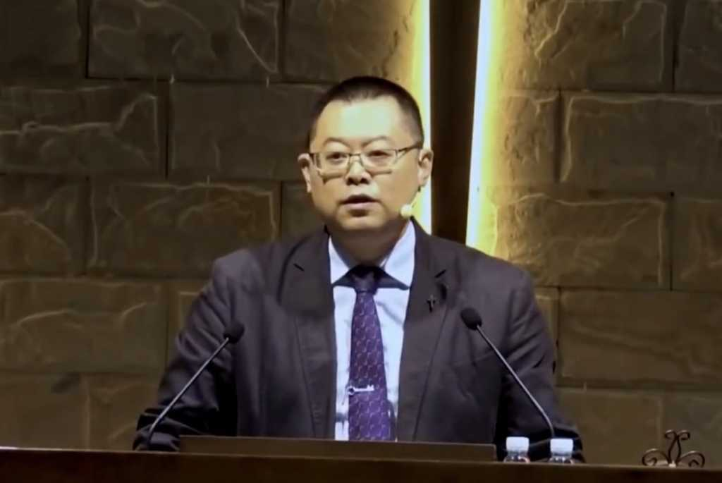 Image credit: Wang Yi Sermon Clips/YouTube