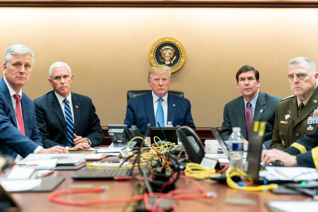 Image: Shealah Craighead/The White House via Getty Images