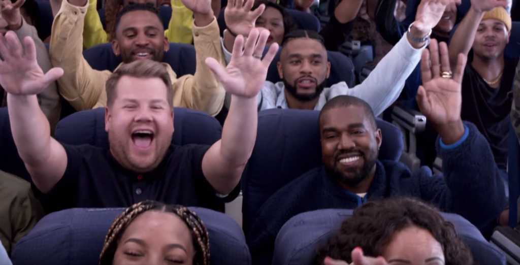 Kanye West Say's GOD Is Using Him:  Airpool Karaoke [VIDEO]