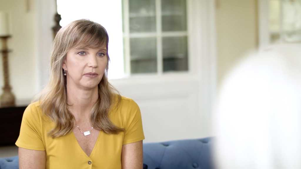 "Screenshot provided by PureFlix.com's ""Restored With Missy Robertson"""