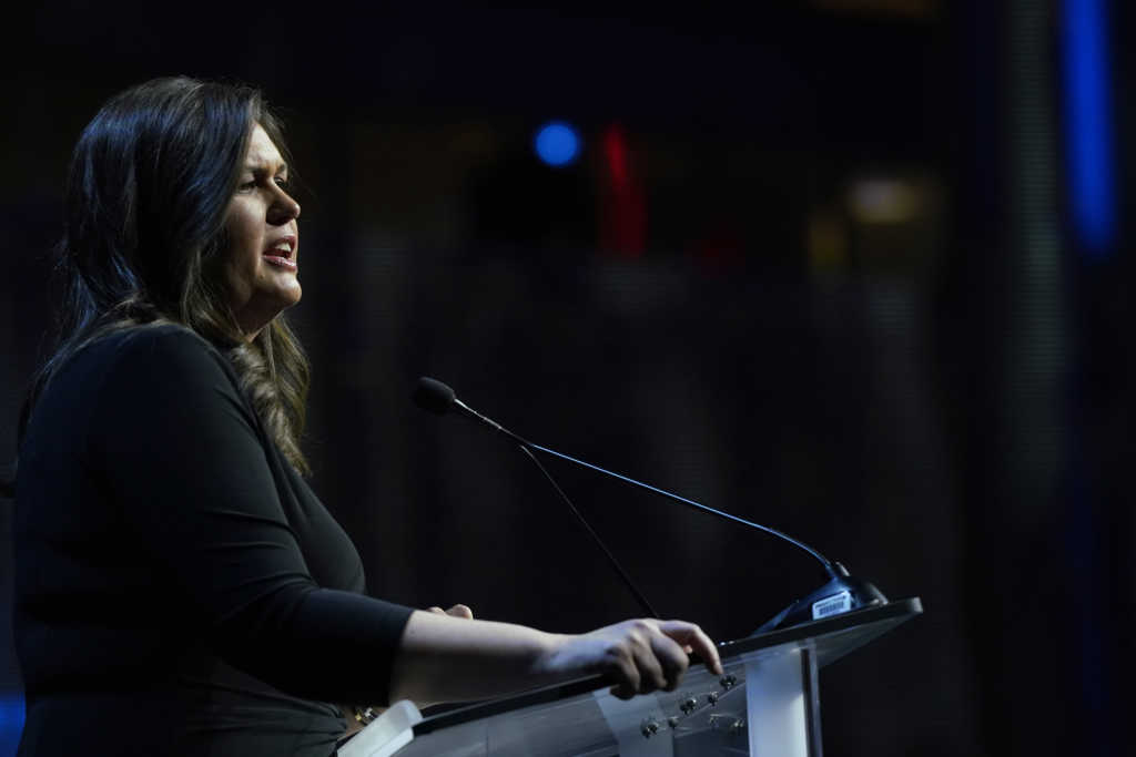 'This President Has Done More for the Pro-Life Movement Than any President': Former Press Secretary Sarah Huckabee Sanders Praises Trump at Annual Save the Storks Gala