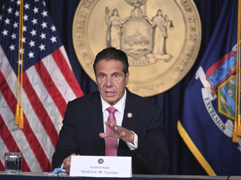 Kevin P. Coughlin/ Office of Governor Andrew M. Cuomo via AP