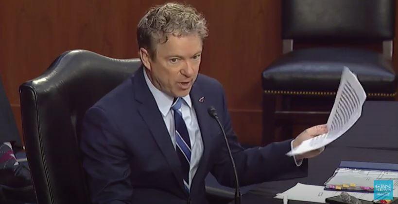 Image: Screenshot / Senate Confirmation Hearing