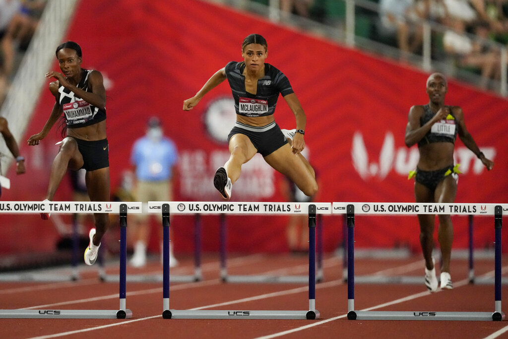 """Sydney McLaughlin Gives """"All the Glory to God"""" After Breaking 400 Meter Hurdles World Record to Win U.S. Olympic Trials"""