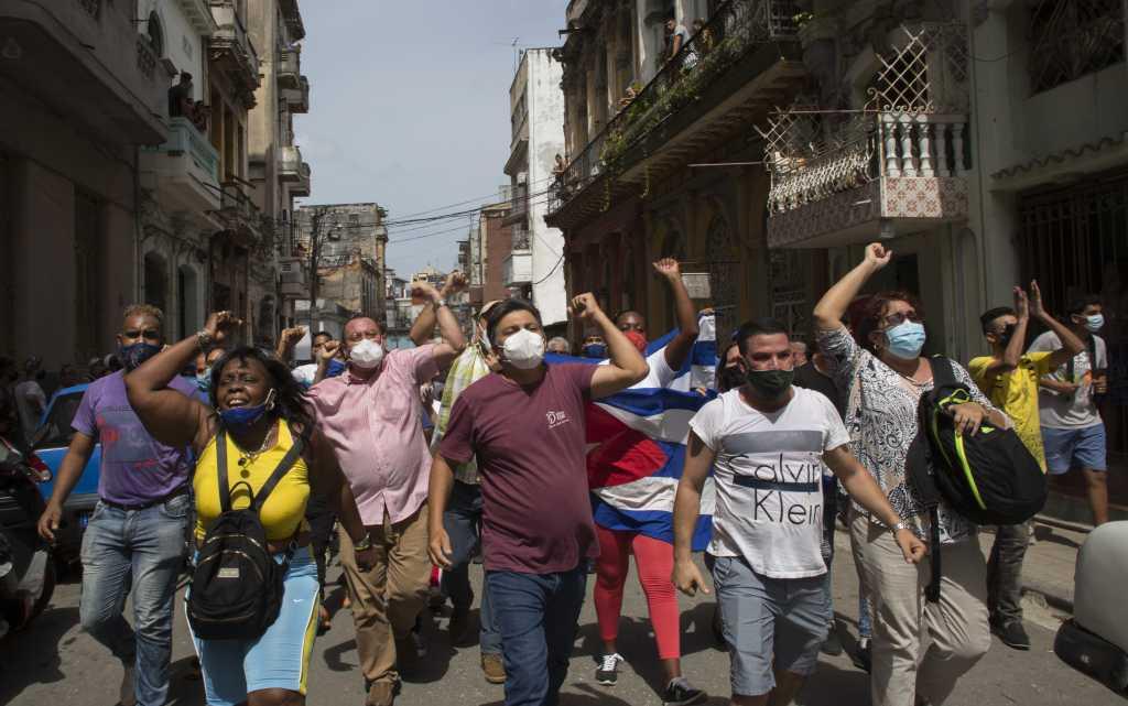 Ted Cruz Praises Freedom Fighters in Cuba, Says Communist Regime Belongs In 'Dustbin of History'