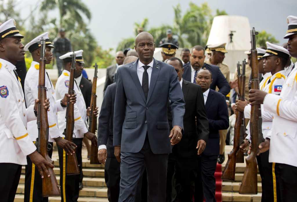 AP Photo/Dieu Nalio Chery, File
