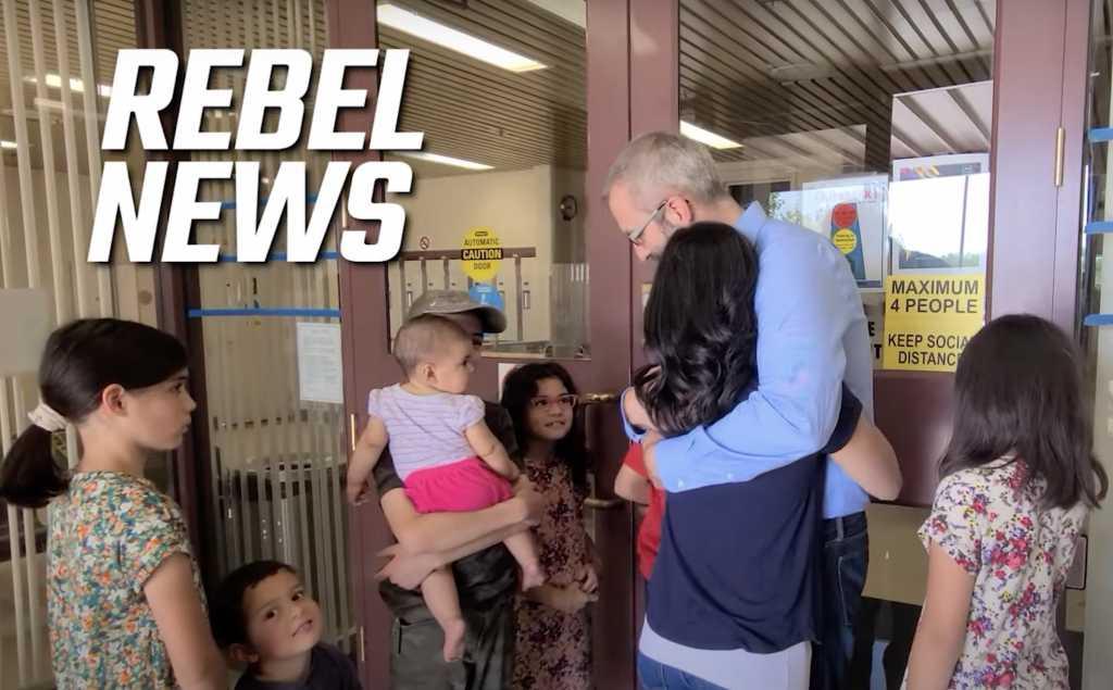 Rebel News/YouTube screenshot
