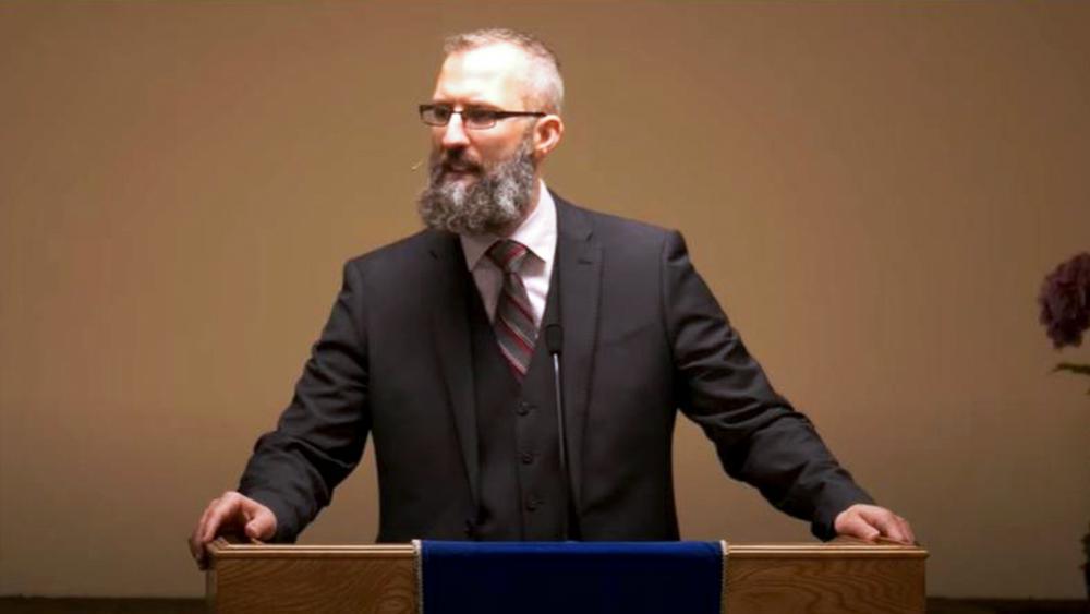 Pastor Tim Stephens. (Screenshot credit: Fairview Baptist Church/YouTube)